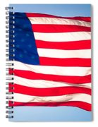 Flow Of Freedom Spiral Notebook