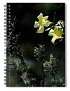 Flower Among The Moss Spiral Notebook