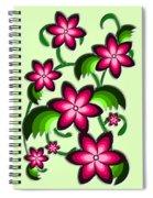 Flower Arrangement Spiral Notebook