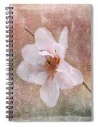 Flower Art - Nature Reminds Us Spiral Notebook