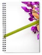 Flower At Rest Spiral Notebook
