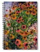 Flower Ballet Spiral Notebook