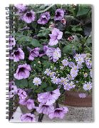 Flower Barrel Spiral Notebook