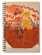 Flower Basket Spiral Notebook