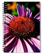 Flower Bed Close Up Spiral Notebook