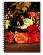 Flower Cart Spiral Notebook
