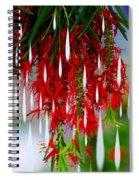 Flower Chandelier Spiral Notebook