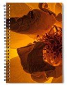 Flower Close Up IIi Spiral Notebook