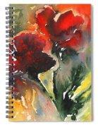 Flower Festival Spiral Notebook