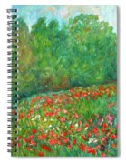 Flower Field Spiral Notebook