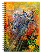 Flower Field Trip Spiral Notebook