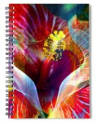 Flower Fire Power Spiral Notebook