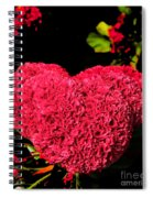 Flower For The Heart Spiral Notebook