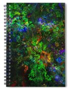 Flower Garden Gone Wild Spiral Notebook