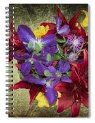 Flower - Garden Joy - Luther Fine Art Spiral Notebook
