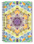 Flower Goddess Spiral Notebook