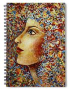 Flower Goddess. Spiral Notebook