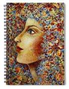 Flower Goddess. Spiral Notebook