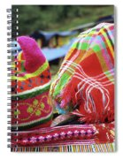 Flower Hmong Baby 05 Spiral Notebook
