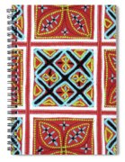 Flower Hmong Embroidery 01 Spiral Notebook