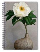 Flower In Vase Spiral Notebook