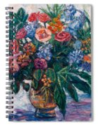 Flower Life Spiral Notebook