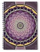 Flower Mandala Spiral Notebook