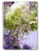 Flower Market Ile De La Cite Spiral Notebook