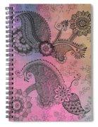 Flower N Leaves Spiral Notebook