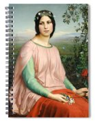 Flower Of The Fields Spiral Notebook