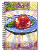 Flower On Chair Spiral Notebook