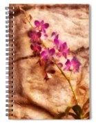 Flower - Orchid - Just Splendid Spiral Notebook