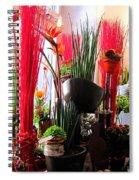 Flower Paradise Spiral Notebook