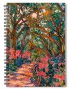 Flower Path Spiral Notebook