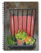 Flower Pots Spiral Notebook