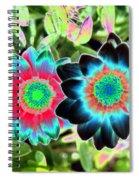 Flower Power 1449 Spiral Notebook