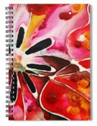 Flower Power - Abstract Floral By Sharon Cummings Spiral Notebook