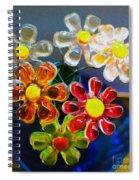 Flower Power Still Life Spiral Notebook