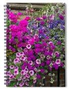 Flower Riot Spiral Notebook