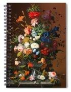 Flower Still Life With A Bird's Nest Spiral Notebook