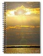 Flower Sun Spiral Notebook