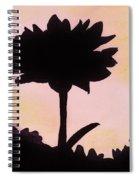 Flower - Sunrise Spiral Notebook