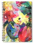 Flower Symphony 03 Spiral Notebook