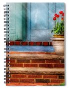 Flower - Tulip - A Pot Of Tulips Spiral Notebook
