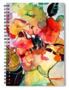 Flower Vase No. 2 Spiral Notebook