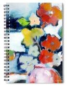 Flower Vase No.1 Spiral Notebook
