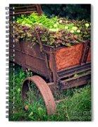 Flower Wagon Spiral Notebook