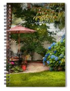 Flower - Westfield Nj - Private Paradise Spiral Notebook