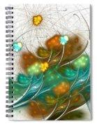 Flower Wind Spiral Notebook