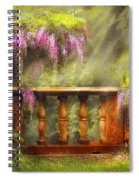 Flower - Wisteria - A Lovers View Spiral Notebook